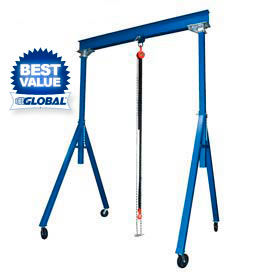 Vestil Steel Gantry Cranes