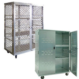 New Age Aluminum Security Storage Trucks