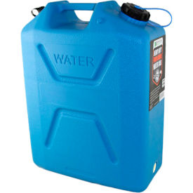 Wavian Water Can, 3214 Blue, 5 Gallon with Spout