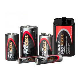 Duracell® Industrial Procell® Batteries