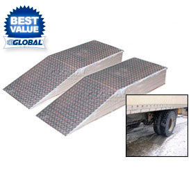 Home Material Handling Dock & Truck Equipment Ramps-Wheel Riser Vestil