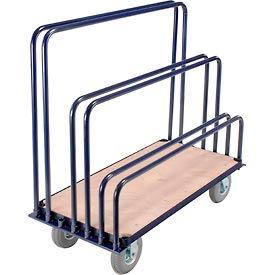 Adjustable Wood Deck Panel & Sheet Mover Trucks