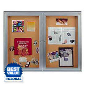 Ghent® / United Visual Products - Indoor Enclosed Bulletin Boards