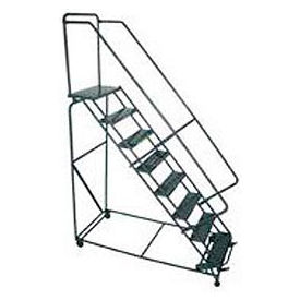 "CAL-OSHA KIT 10-12 Step Ladders - 24""W Steps"