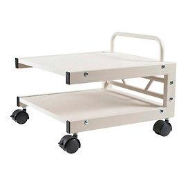 Balt® 27501 Low Profile Printer Stand, 14''H x 17''W x 17''D, Gray