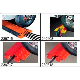Vehicle Pedestrian Modular Cable & Hose Guard/Ramp