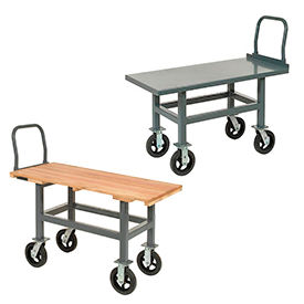 Ergonomic Work Height Platform Trucks