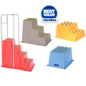 Heavy Duty Plastic Step & Load Stands
