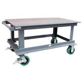 Strong Hold® Extra Heavy Duty 12,000 Lb. Capacity Portable Steel Tables