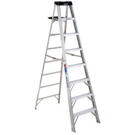 Werner® 300 LB. Capacity Aluminum Step Ladder