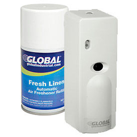 Bathroom supplies odor control global automatic air - Automatic bathroom air freshener ...