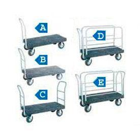 Akro-Mils® VERSA/Deck™ Plastic Platform Trucks