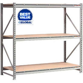 Global - Extra High Capacity Bulk Storage Rack With Wood Deck