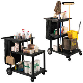 Luxor® Janitor Carts