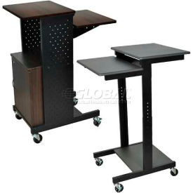 Luxor Prestige Computer Presentation Workstation Carts
