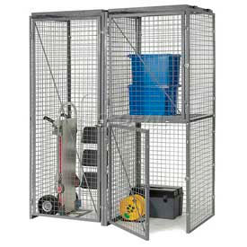 Wire Mesh Bulk Storage Partitions & Lockers