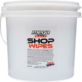 2XL Industrial Strength Shop Wipes Bucket, 400 Wipes/Bucket, 2 Buckets/Case - 2XL-439