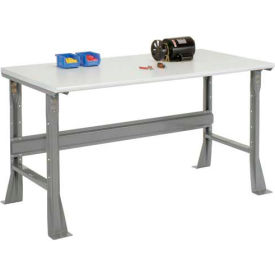 "48""W X 30""D X 34""H ESD Safety Edge Workbench - Gray"