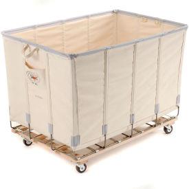 Dandux Canvas Basket Bulk Truck 40072024-4S 24 Bushel - White