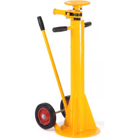 Dock \u0026 Truck Equipment | Trailer Stabilizers Jacks Standard Duty Stabilizing Jack Stand 100,000 Lb. Static Capacity 132050 - GlobalIndustrial.