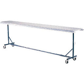 """Omni Metalcraft Portable Castered Conveyor Support 24""""W PTST21.75-23-39-10"""