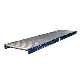 "Omni Metalcraft 2-1/2"" Dia. Steel Roller Conveyor Straight Section GUHS2.5X11-18-4-10"