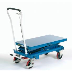 Mobile Scissor Lift Table 1100 Lb. Capacity