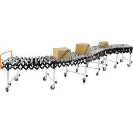 Portable Flexible & Expandable Conveyor Steel Skate Wheels 175 Lbs. Per Foot