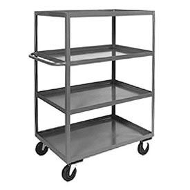 Jamco Heavy Duty Shelf Truck CD248 4 Shelves 48 x 24 3000 Lb. Capacity