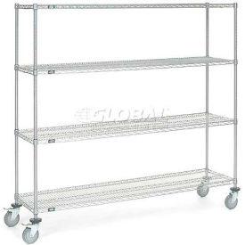 Nexelate Wire Shelf Truck 72x18x69 1200 Pound Capacity