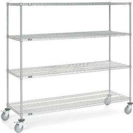 Nexelate Wire Shelf Truck 72x24x69 1200 Pound Capacity