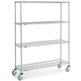 Nexelate Wire Shelf Truck 60x18x80 1200 Pound Capacity