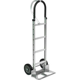 Aluminum Hand Truck Loop Handle Mold-On Rubber Wheels