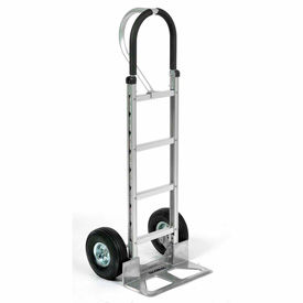 Global Industrial™ Aluminum Hand Truck - Loop Handle - Pneumatic Wheels