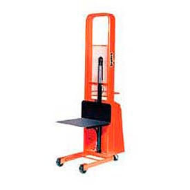 PrestoLifts™ Pacemaker Battery Powered Lift Stacker B552-1500 1500 Lb. 24x24 Platform