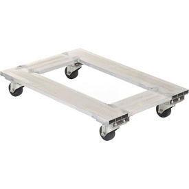 """Vestil Aluminum Caster Dolly ACP-1824-9 24""""L x 18""""W 900 Lb. Capacity"""