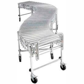 "NestaFlex® RLS18028S Portable Flexible 18""W Roller Conveyor 200 Lb./Foot"