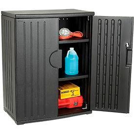 Cabinets | Plastic | Plastic Storage Cabinet 36x22x46 ...