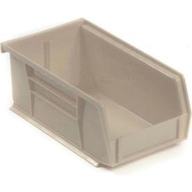 "Akro-Mils AkroBin® Plastic Stacking Bin 30220 - 4-1/8""W x 7-3/8""D x 3""H, Stone - Pkg Qty 24"