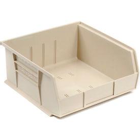 "Akro-Mils AkroBin® Plastic Stacking Bin 30235 - 11""W x 10-7/8""D x 5""H, Stone - Pkg Qty 6"
