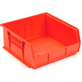 "Akro-Mils AkroBin® Plastic Stacking Bin 30235 - 11""W x 10-7/8""D x 5""H, Red - Pkg Qty 6"