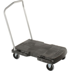 Rubbermaid® FG440100BLA Triple® Trolley 3-In-1 Platform Truck 500 Lb. Cap.