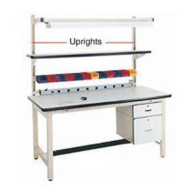 """48"""" H Workbench Uprights - Beige"""