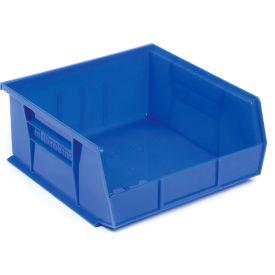 "Akro-Mils AkroBin® Plastic Stacking Bin 30255 - 16-1/2""W x 10-7/8""D x 5""H, Blue - Pkg Qty 6"