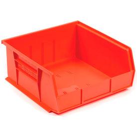 "Akro-Mils AkroBin® Plastic Stacking Bin 30255 - 16-1/2""W x 10-7/8""D x 5""H, Red - Pkg Qty 6"