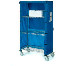 "36""W X 24""D X 74""H Blue Nylon Cover"
