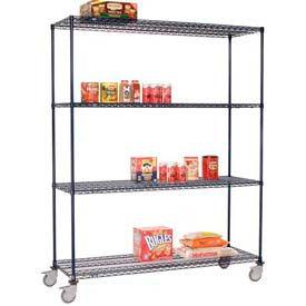 Nexelon™ Wire Shelf Truck 36x24x80 1200 Lb. Capacity