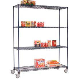 Nexelon™ Wire Shelf Truck 48x24x80 1200 Lb. Capacity