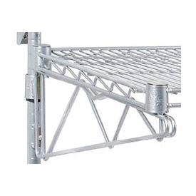 """Adjustable Single Shelf Support Kit 24"""" Deep (Pair)"""