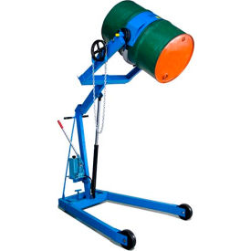 """Morse® Mobile Drum Lift and Tilt 400A72 72"""" High Dispensing for 55 Gal Drum"""
